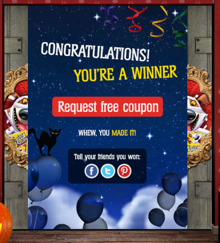 free purina coupon winner