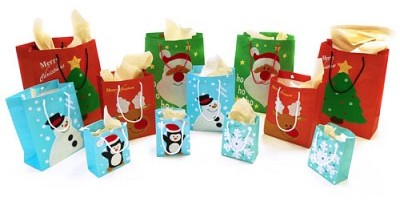 free holiday gift bags