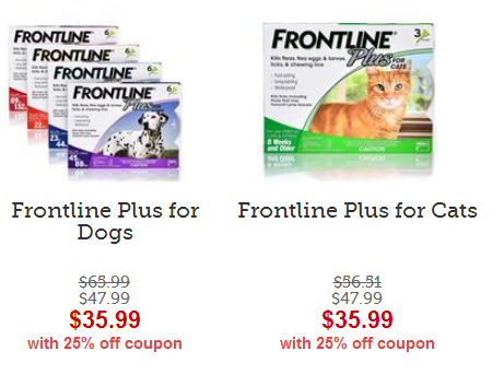 frontline on sale