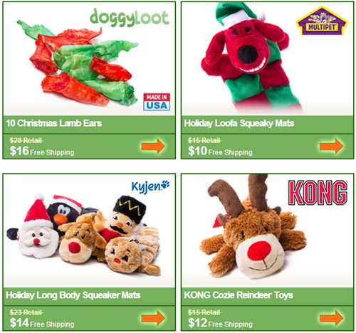 holiday doggyloot deals