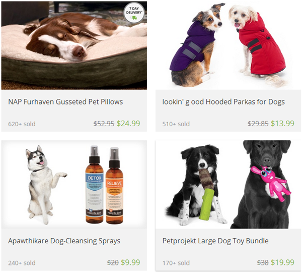 pet pillows deals