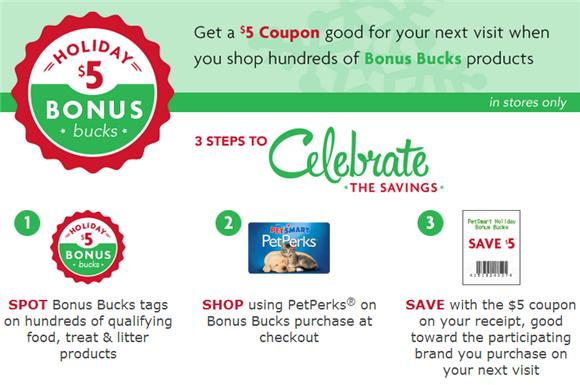 petsmart bonus bucks