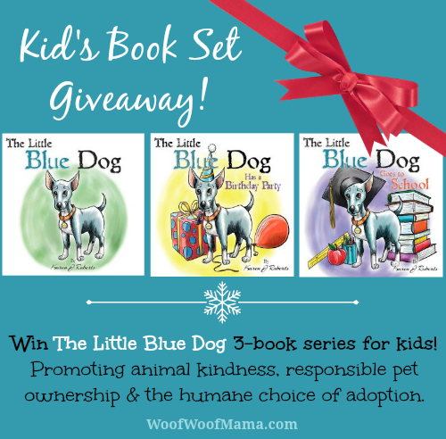 Kid's Book Giveaway: WIN The Little Blue Dog Series!