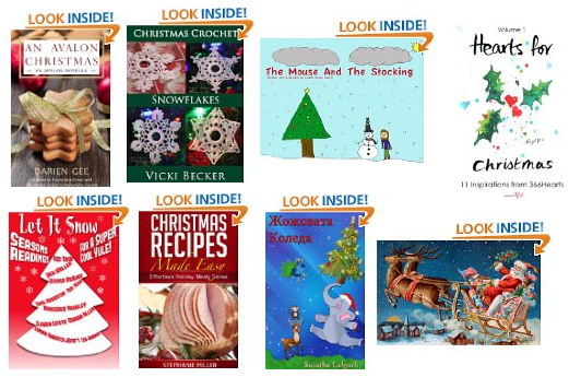 free christmas ebooks