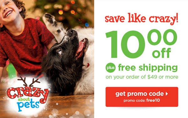 petco $10 off promo code and free shipping
