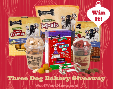 Three Dog Bakery Holiday Giveaway