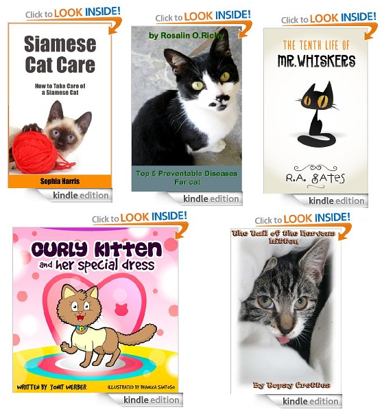 free cat books