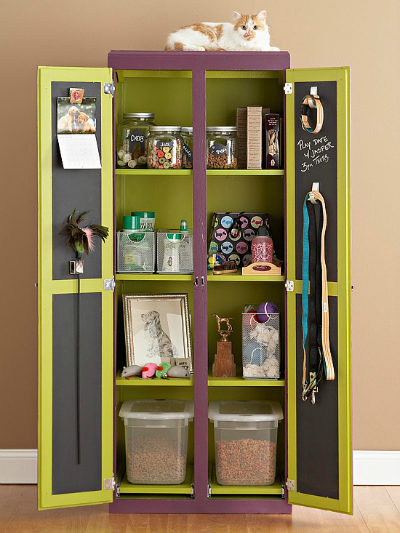 DIY pet armoire