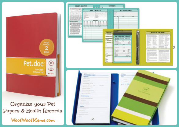 pet document organizers
