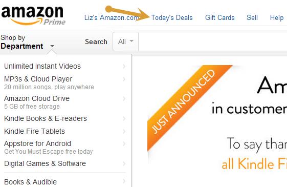 top deals amazon