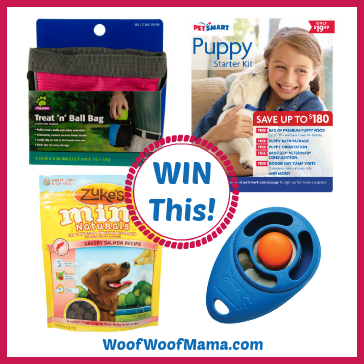 Win dog training products from PetSmart!