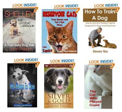 free cat and dog books