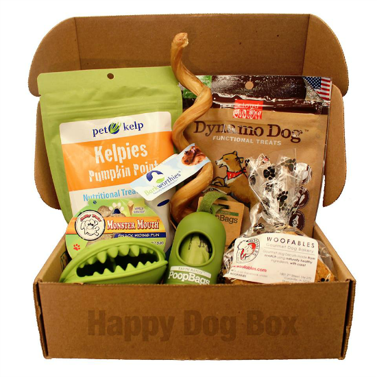 happy dog mystery box discount promo
