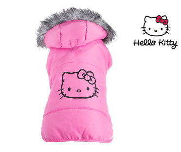 Hello Kitty Puffy Coat for Dogs