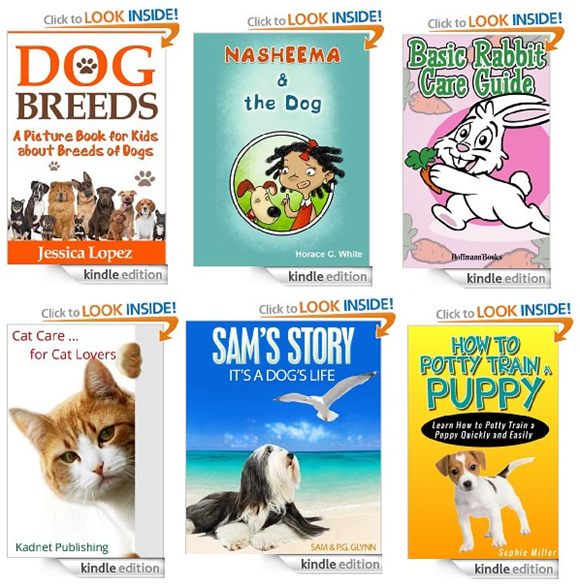 pet kindle books free to download