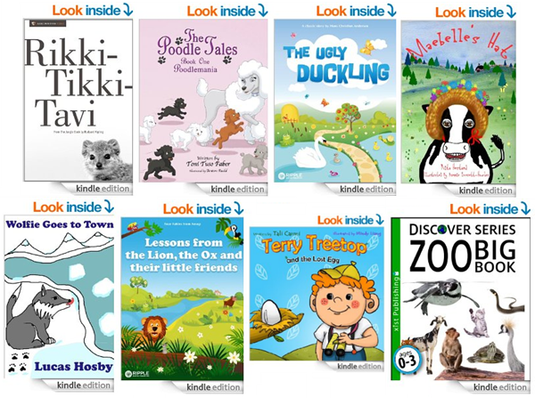 free kids animal books