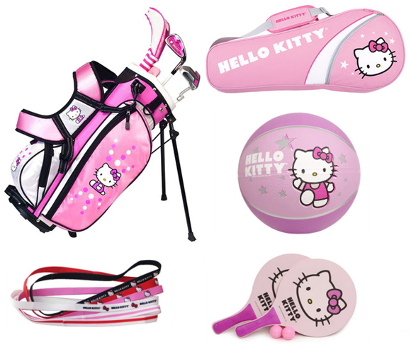 hello kitty sports gear