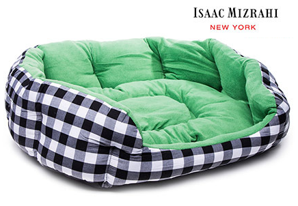 Isaac Mizrahi dog bed