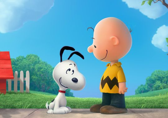 snoopy peanuts movie in 3D