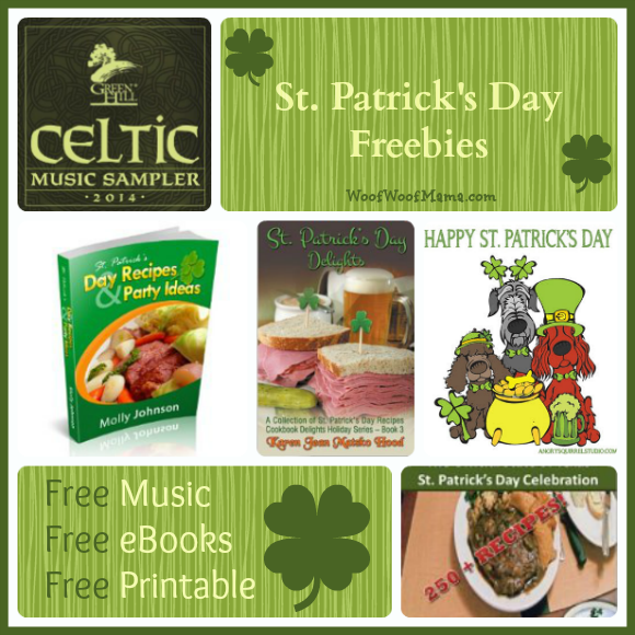 Free stuff for St. Patrick's Day!