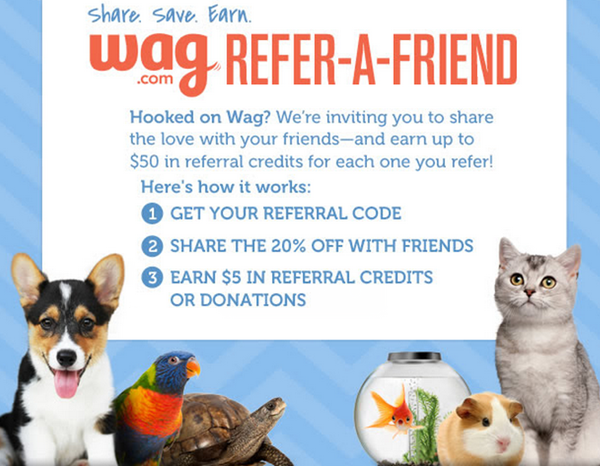 wag promo code and free credit