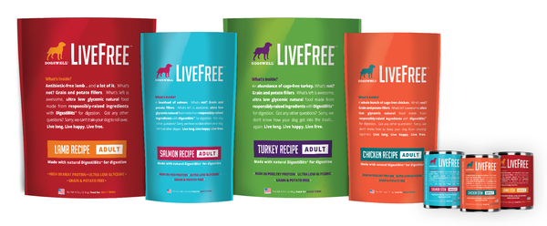 Dogswell LiveFree holistic dog food