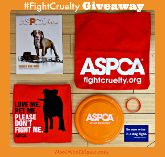 aspca fight cruelty prize pack