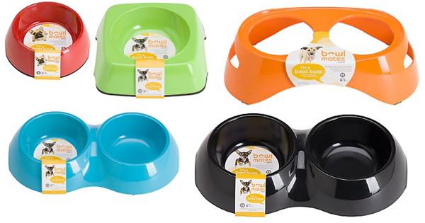 pet bowl bases