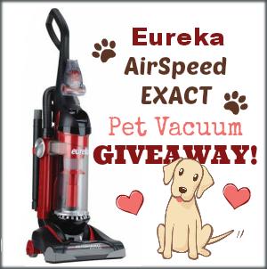 eureka pet vacuum giveaway