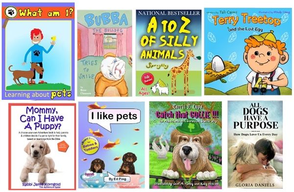 kid's pet books