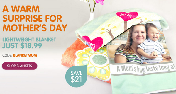 mother's day blanket deal