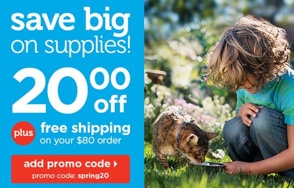 Petco promo code for $20 off