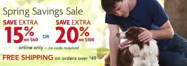 petsmart spring sale