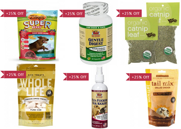 natural pet products on sale