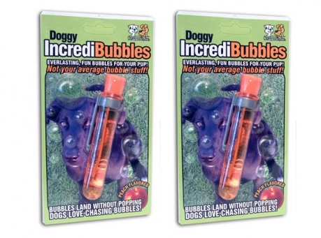 bubbles dog toy