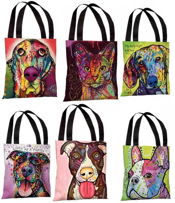dean russo tote bags