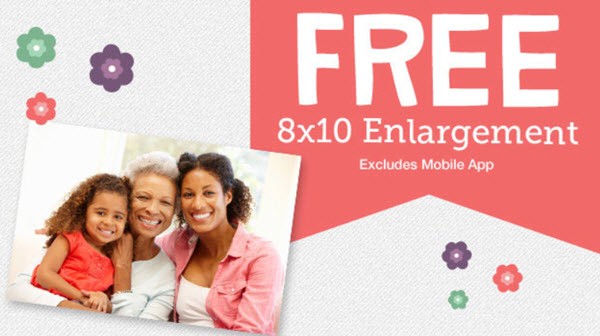 FREE 8X10 print for Mom