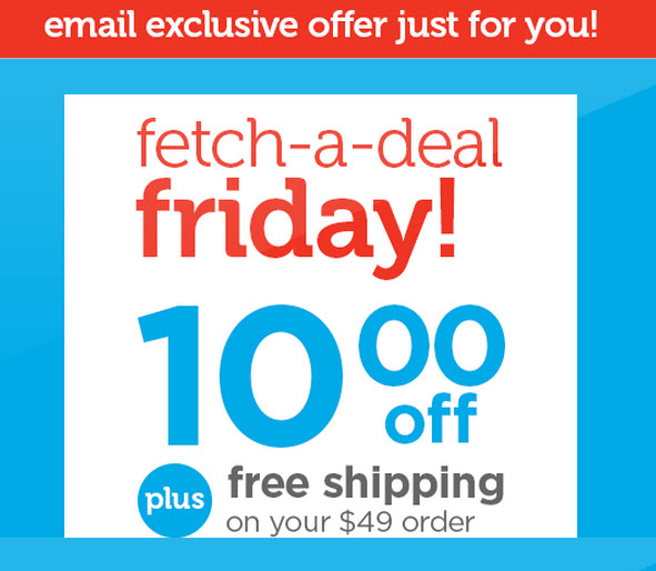 petco friday promo code