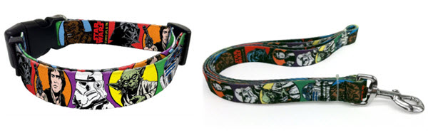 star wars dog collar leash