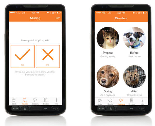 new ASPCA pet safety app