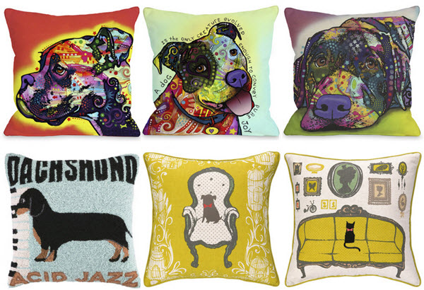 1cc97944fff Pillows With Dogs On Them - Photos Table and Pillow Weirdmonger.Com