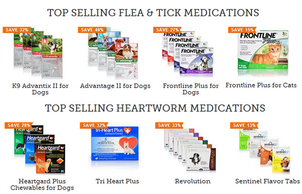 flea tick heartworm deals