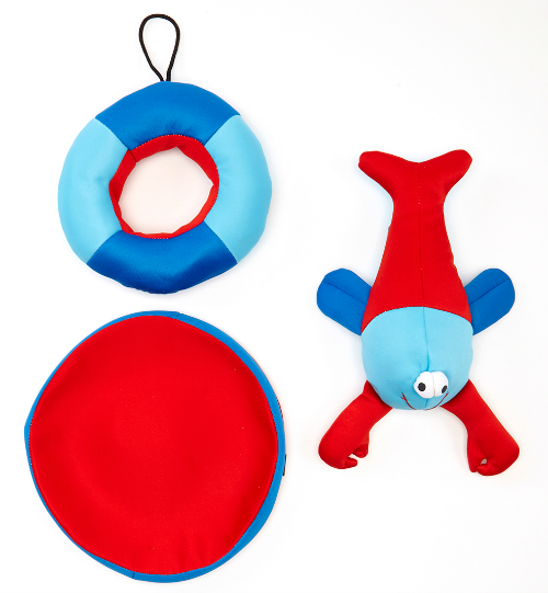 floating dog toys