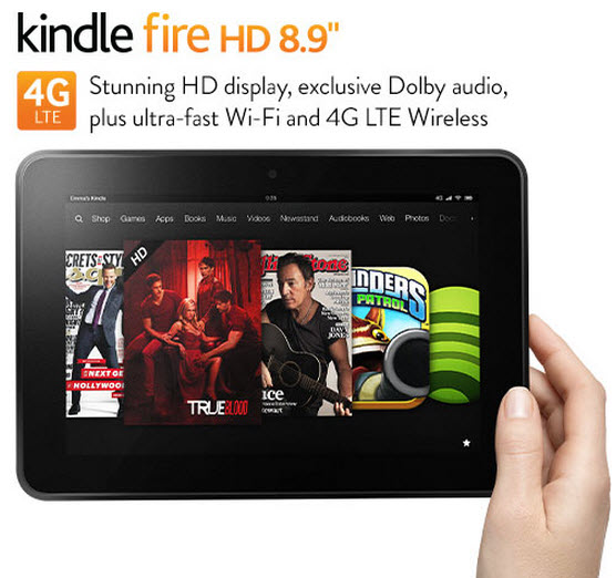 $100 Off a Kindle Fire