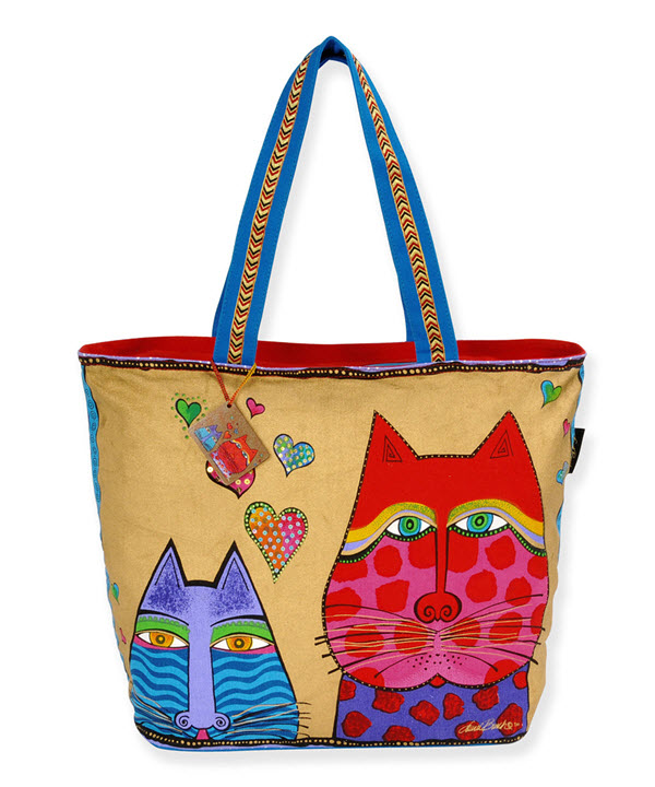 laurel burch cat bag