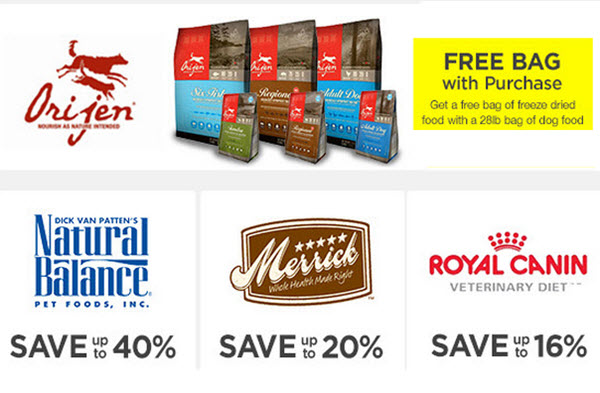 pet food deals and promo codes