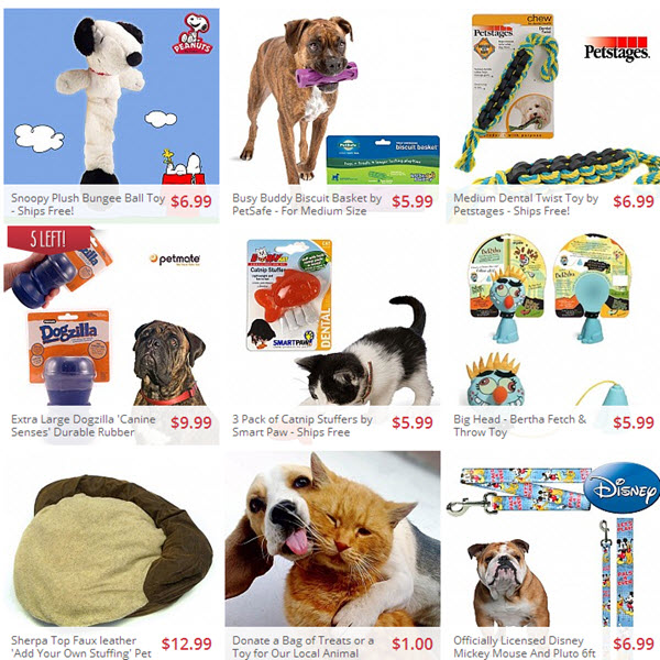 pet items on sale