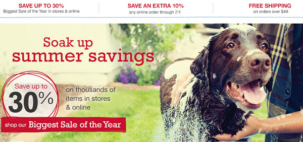 petsmart biggest sale of the year