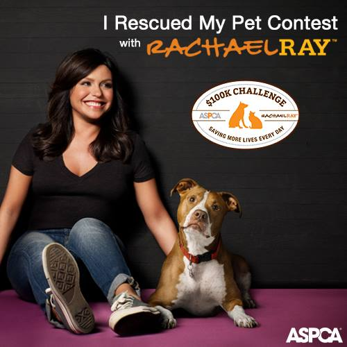 Rachael Ray and her rescue dog