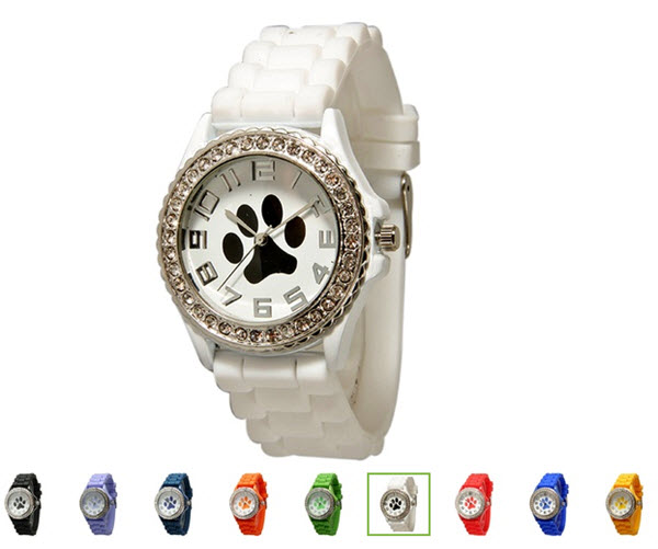 cute dog paw watches